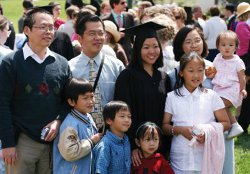 Family at Commencement