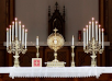 All-Night Adoration, on New Altar, in New England Chapel