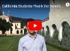 Video: California Students Thank the Benefactors of Thomas Aquinas College