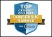 College Consensus Names TAC <br>a Top 10 Catholic College of 2018
