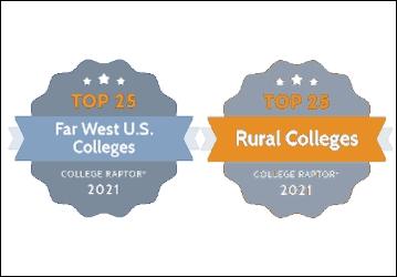 College Raptor Badges 2021