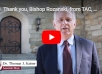 A Video Thank You to Bishop Rozanski from TAC, New England