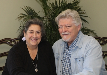 Laura and Stephen Grimm ('75)