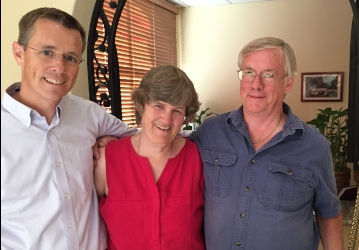 Jon, Mary, and Michael Daly