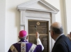 Archbishop Gomez Blesses Plaques Honoring Dr. Dillon and Chapel's Benefactors