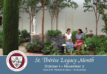 St. Therese Legacy Month, Oct. 1 to Nov. 2 2020