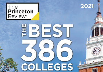 The Princeton Review - The Best 386 Colleges 2021