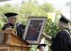 College Honors Long-Serving Librarian, Viltis Jatulis, at Commencement 2016