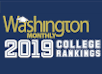 <em>Washington Monthly</em> Ranks TAC <br>Among Nation's Top Colleges for 2019