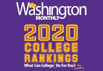 Washington Monthly College Guide 2020
