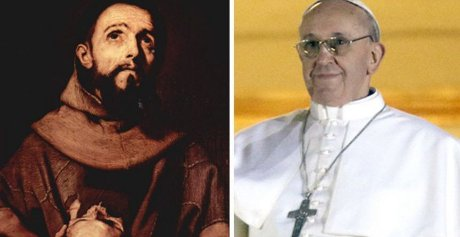 St. Francis and Pope Francis