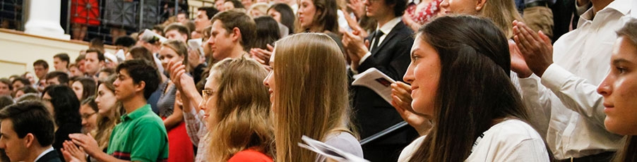 College Welcomes Freshmen at Convocation 2018