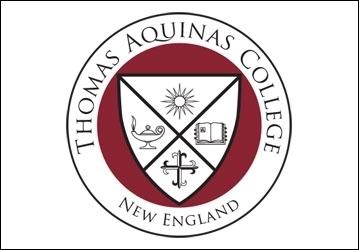 Crest for Thomas Aquinas College, New England
