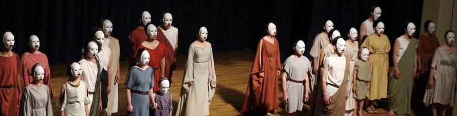 Slideshow: The St. Genesius Players' Performance of Sophocles' <em>Antigone</em>
