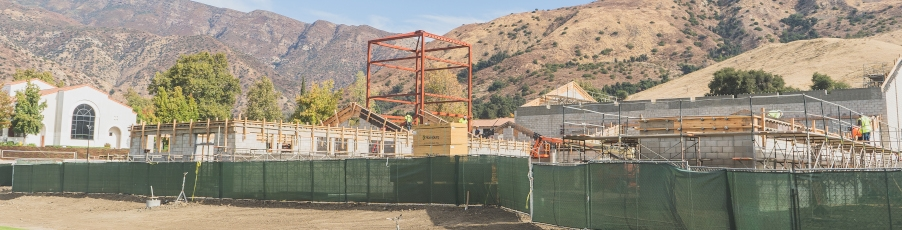 Video and Photos: <br>Update on the Pope St. John Paul II Athletic Center