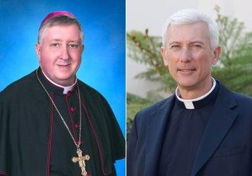 Bishop Mitchell Rozanski and Fr. Joseph Illo