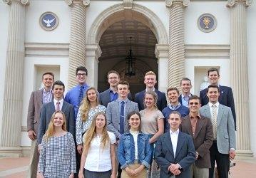 Thomas Aquinas College Business Club, 2018
