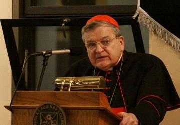 Cardinal Burke Address 2016