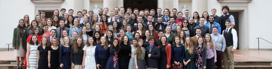 The Class of 2020 and <br>Senior Thesis Titles