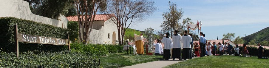 Slideshow: <br>A Eucharistic Procession for Divine Mercy Sunday