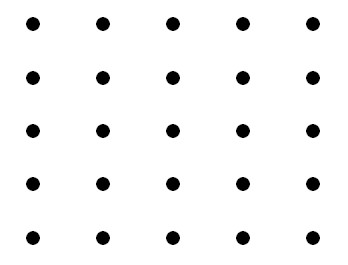 five rows of ficv dots