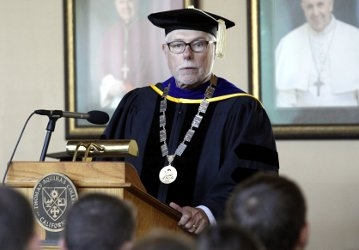 President McLean at Matriculation 2017