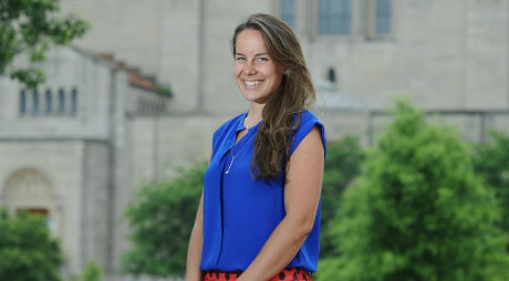 Emily McBryan ('11), photo: The Catholic University of America
