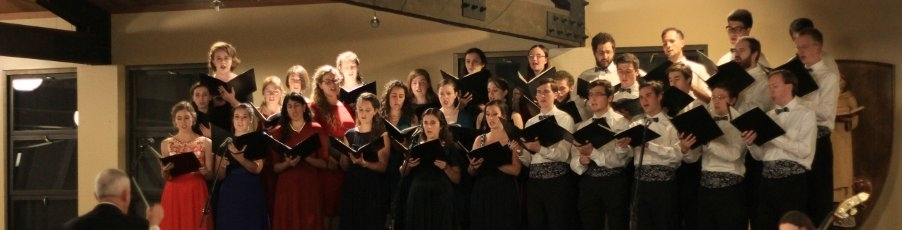 New Video from the <br>Thomas Aquinas College Choir's November Concert!