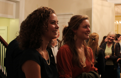 Members of the College Community in Olivia Music Hall