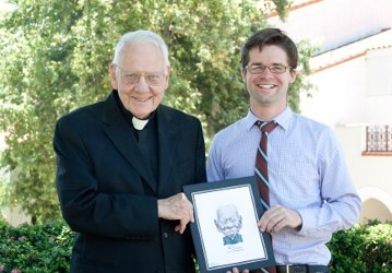 Fr. Buckley and Pat Cross