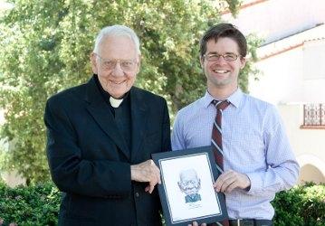 Fr. Buckley and Pat Cross