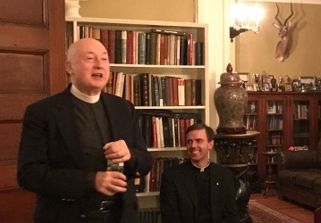 Rev. Geoge Rutler, NYC Reception 2017