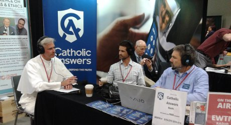 Rev. Sebastian Walshe, O.Praem., ('94) is a regular guest on Catholic Answers Live