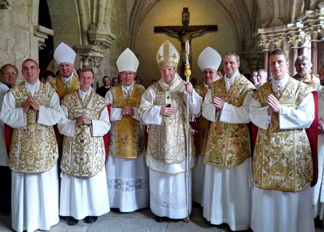 The ordination of Fr. Waldstein