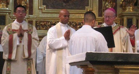 Diaconal ordination of Frater Jacob (Joseph Hsieh '06)
