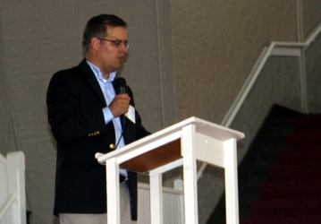 Dr. John J. Goyette at New England Reception 07-01-2017