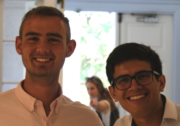 Joe Guinee and Jean Guerreiro