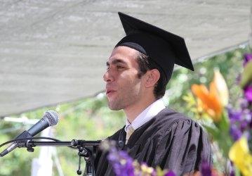 Joseph Rivera -- Commencement 2017