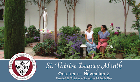 St. Therese Legacy Month