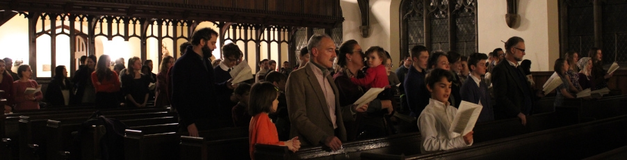 Slideshow: College Hosts Advent Lessons & Carols <br>on New England Campus