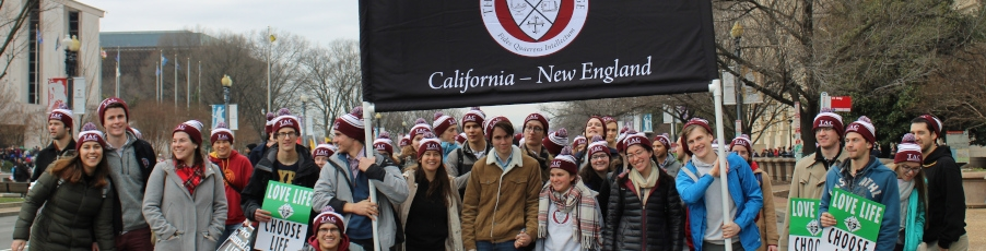 Slideshow: New England Students Make First Annual Trip to the March for Life!