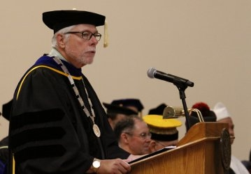 Dr. McLean at California Matriculation 2019