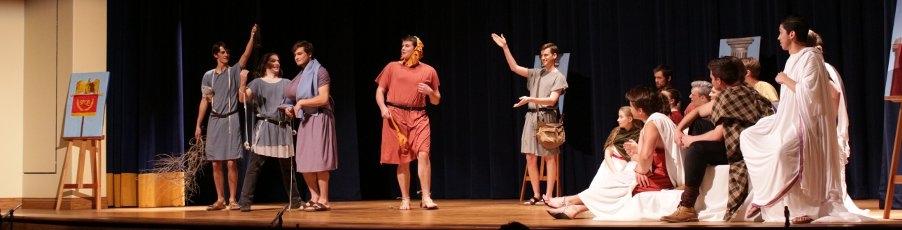 Slideshow: Students Perform Shakespeare's <em><br>A Midsummer Nights Dream</em>