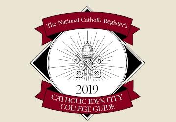 National Catholic Register Catholic Identity College Guide 2019
