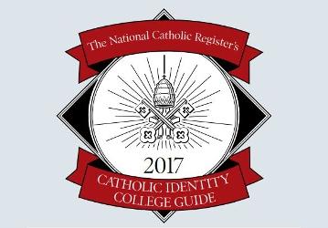 National Catholic Register Catholic Identity College Guide 2017 (logo)