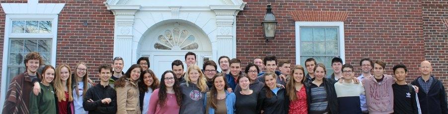Photos: Members of First Class Visit Thomas Aquinas College, New England!