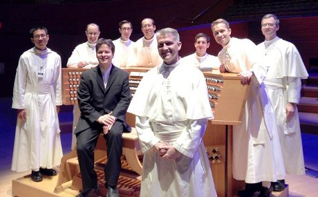 Paul Jacobs and the Norbertine Abbey Choir