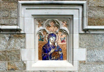 Our Mother of Perpetual Help mosaic