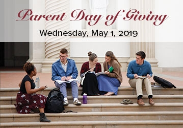 Parents Day of Giving 2019