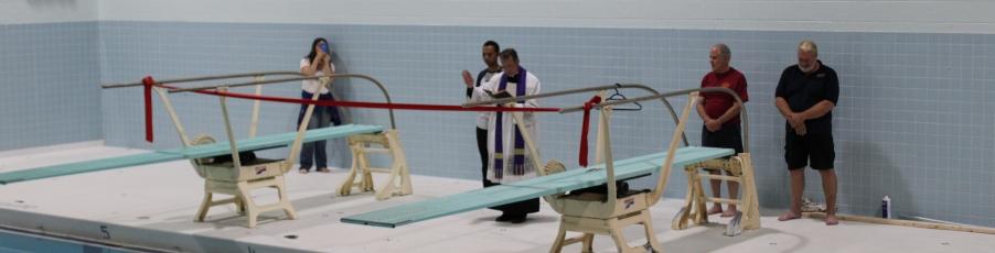 Aquatics Center Opens on New England Campus